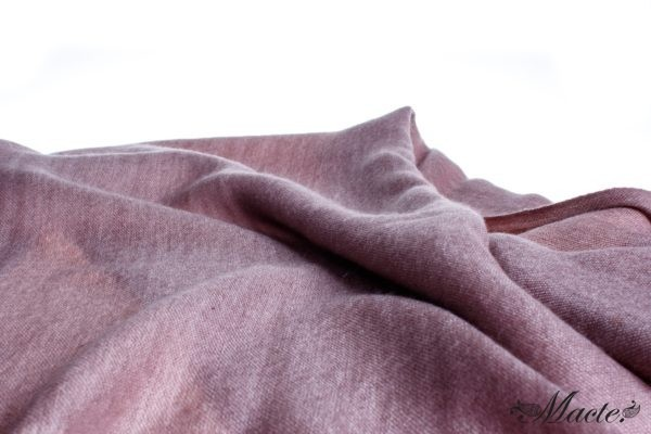 Rose Reversible Cashmere Shawl Barbara, Macte View 2
